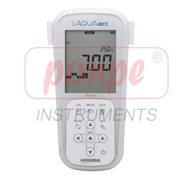 pH130 Horiba Scientific Portable Meter DualChannel pH/ORP/ Ion/Temp