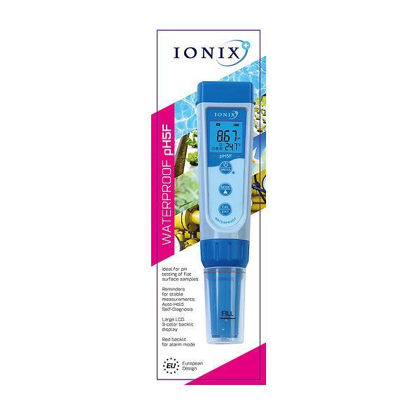 pH5F / IONIX เครื่องวัดค่ากรดด่าง pH Meter