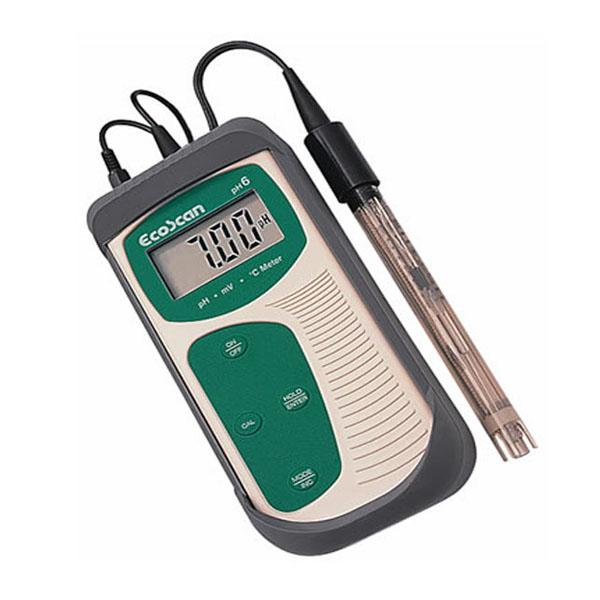 EcoScan pH6 DISCONTINUED PH meter/mV/temp  เครื่องวัดค่าพีเอช และอุณหภูมิ