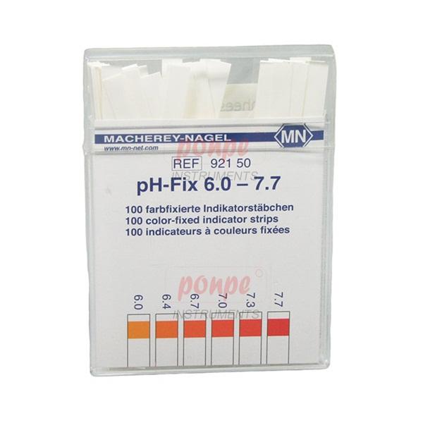 ก้านวัดกรด ด่าง pH Test Strip pH-Fix 6.0-7.7