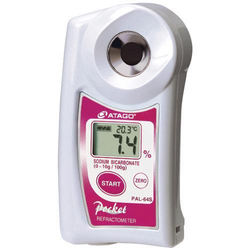 Sodium bicarbonate refractometer PAL-64S