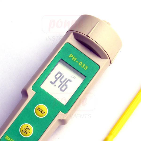 เครื่องวัดกรดด่าง pH Meter  pH-033
