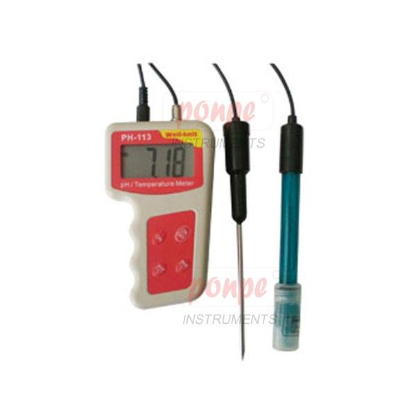 PH-113 / JEDTO เครื่องวัดกรดด่าง pH Meter with Temperature