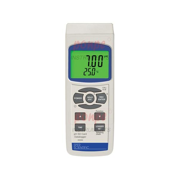 PH Meter 850060 pH SD Card Data logger with SD CARD