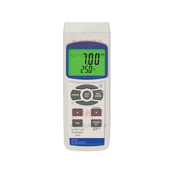เครื่องวัดกรดด่าง 850060 pH SD Card Datalogger บันทึกข้อมูลด้วย SD CARD