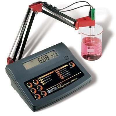 เครี่องวัดกรดด่าง pH/mV Bench Meter pH211 HANNA, ITALY
