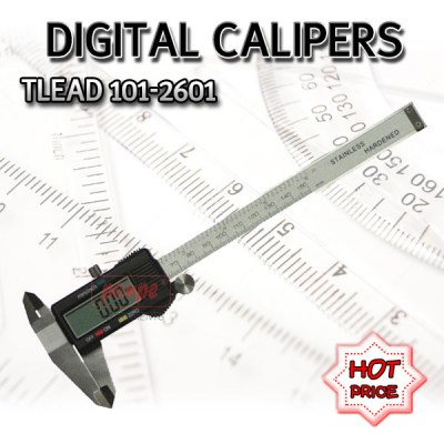 101-2601 TLEAD DIGITAL CALIPERS