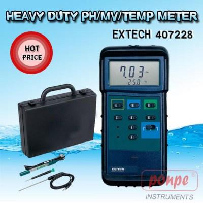 407228 PH / MV / Temp Meter