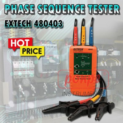 480403 Phase sequence meter