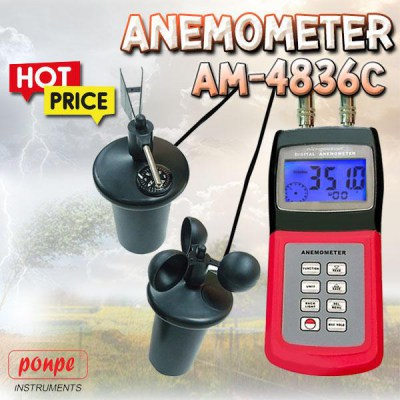 AM-4836C Wind Speed Meter