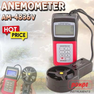 AM-4836V Wind Speed Meter