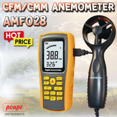 AMF028 CFM / CMM Wind Speed ​​Meter