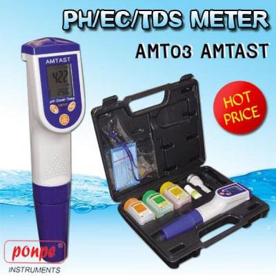 AMT03 PH / EC / TDS Meter