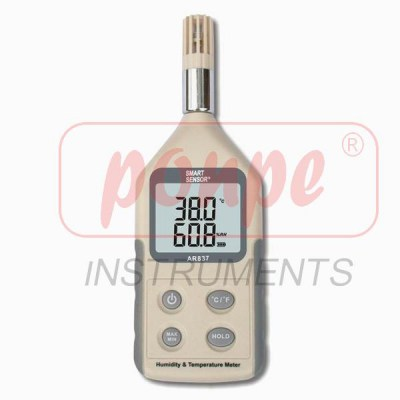 AR837 Temperature & Humidity Meter