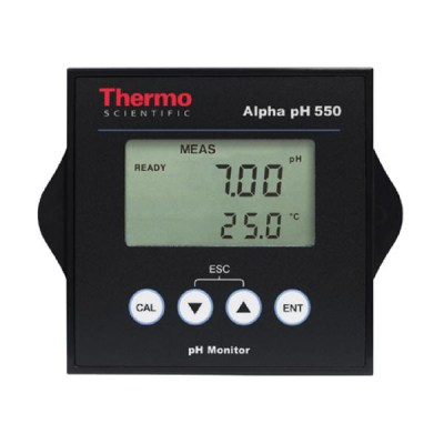 Alpha pH 550 pH Monitor