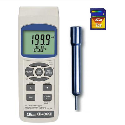 CD-4307SD Conductivity Meter