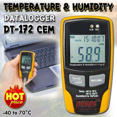 DT-172 Temperature and humidity recorder