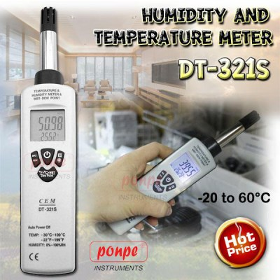 DT-321S Hygro-Thermometer