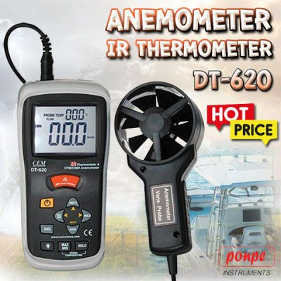 DT-620 ANEMOMETER