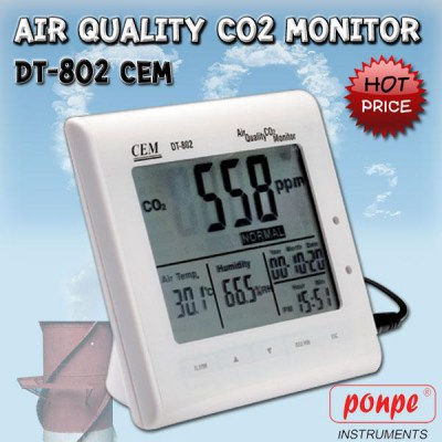 DT-802 CEM CO2 Monitor
