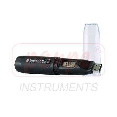 EL-USB-TP-LCD + Temperature Meter