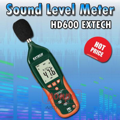 HD600 Sound Level Meter
