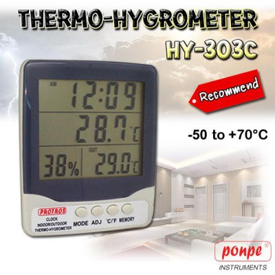 hy-303c humidity temperature meter