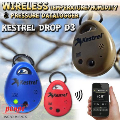 KESTREL DROP D3 RECORDER