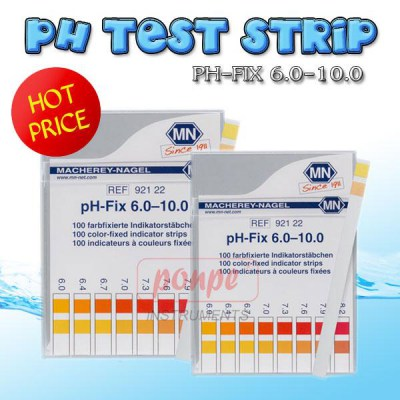 PH TEST STRIP PH-FIX 6.0-10.0