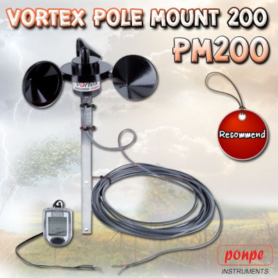 PM200 VORTEX POLE MOUNT 200'