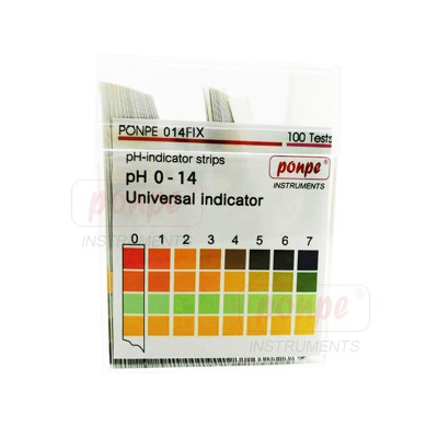 Acid measure paper