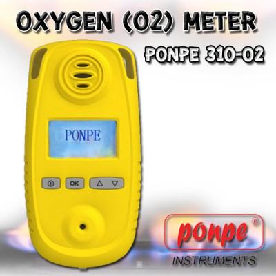 PONPE 310-O2 O2 Gas Meter