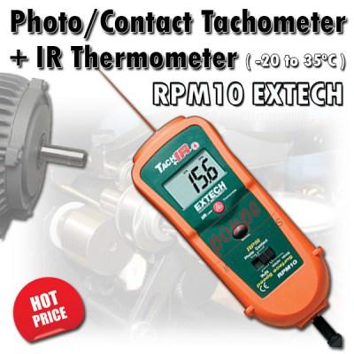 RPM10 EXTECH Tachometer