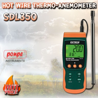 SDL350 Wind Speed ​​Meter