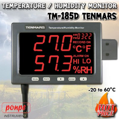 TM-185D Thermometer