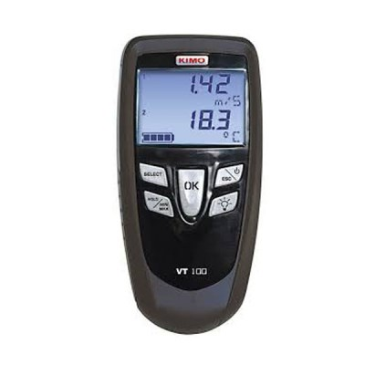 VT100S CFM / CMM Wind Speed ​​Meter