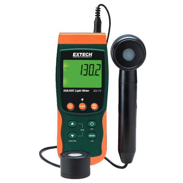 UVA/UVC Light Meter/Datalogger SDL470