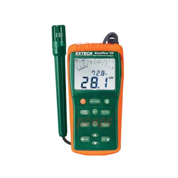 EA25 EXTECH เครื่องวัดและบันทึกอุณหภูมิ ความชื้น Hygro-Thermometer Datalogger
