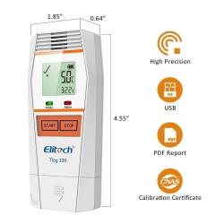 Tlog 100 / Elitech / เครื่องบันทึกอุณหภูมิ Multi-Use Temperature Data Logger