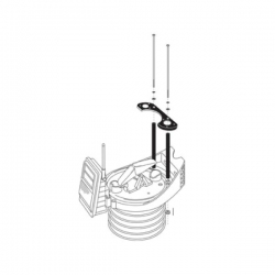 6673 Davis Instruments Sensor Mounting Shelf