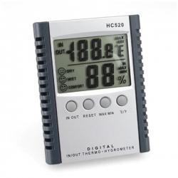 HC-520 / JEDTO เครื่องวัดอุณหภูมิ ความชื้น Digital In-Outdoor Thermometer