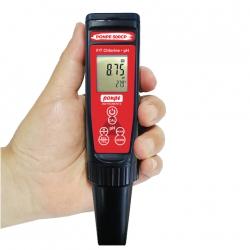 PONPE 500CP pH Meter Free and Total Chlorine Meter เครื่องวัดคลอรีนและ pH ในเครื่องเดียว