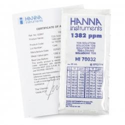 HI70032C HANNA TDS Calibration น้ำยาแบบซอง 1382 mg/L