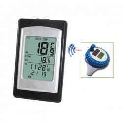 WT0124 / JEDTO เครื่องวัดอุณหภูมิสระว่ายน้ำ Wireless Solar Swimming Pool Thermometer